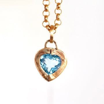 Heart Locket - Ocean