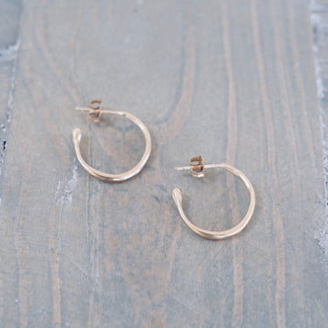 Ear Hoops - Gold