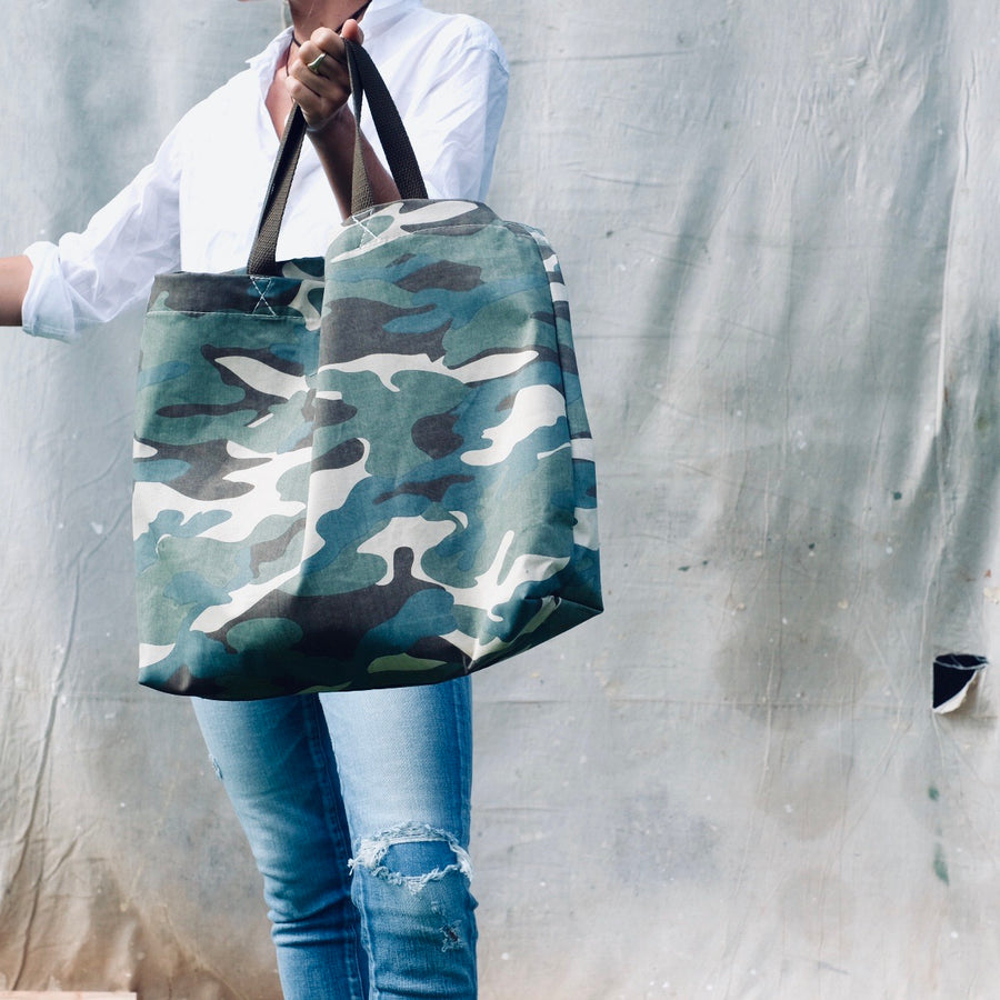 Light Camo Tote