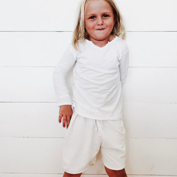 The Thula Shorts - White