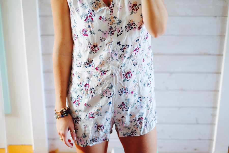 Colombier Romper - Wildflower