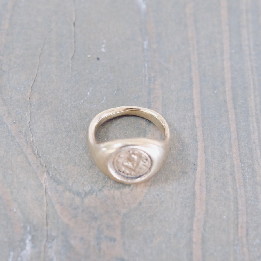 Forget Me Not Ring - Gold