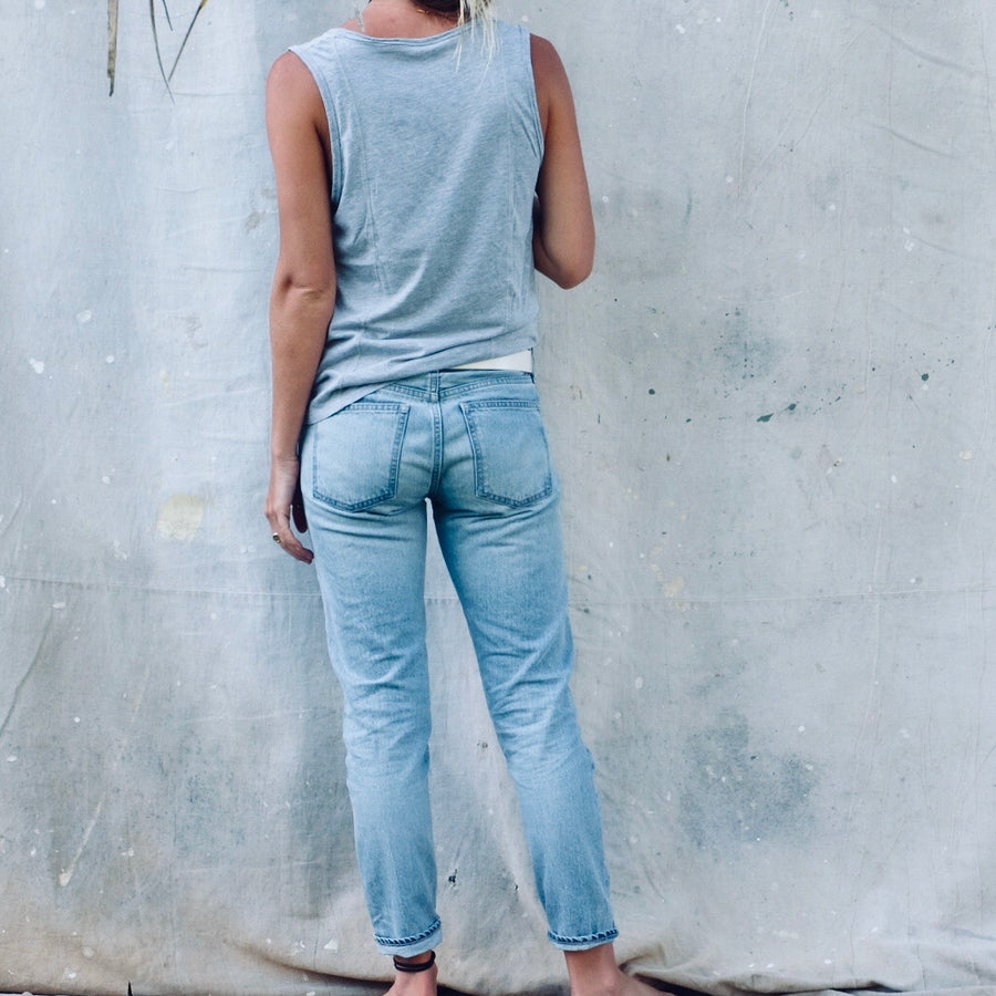 Camilla Tapered - Light Blue