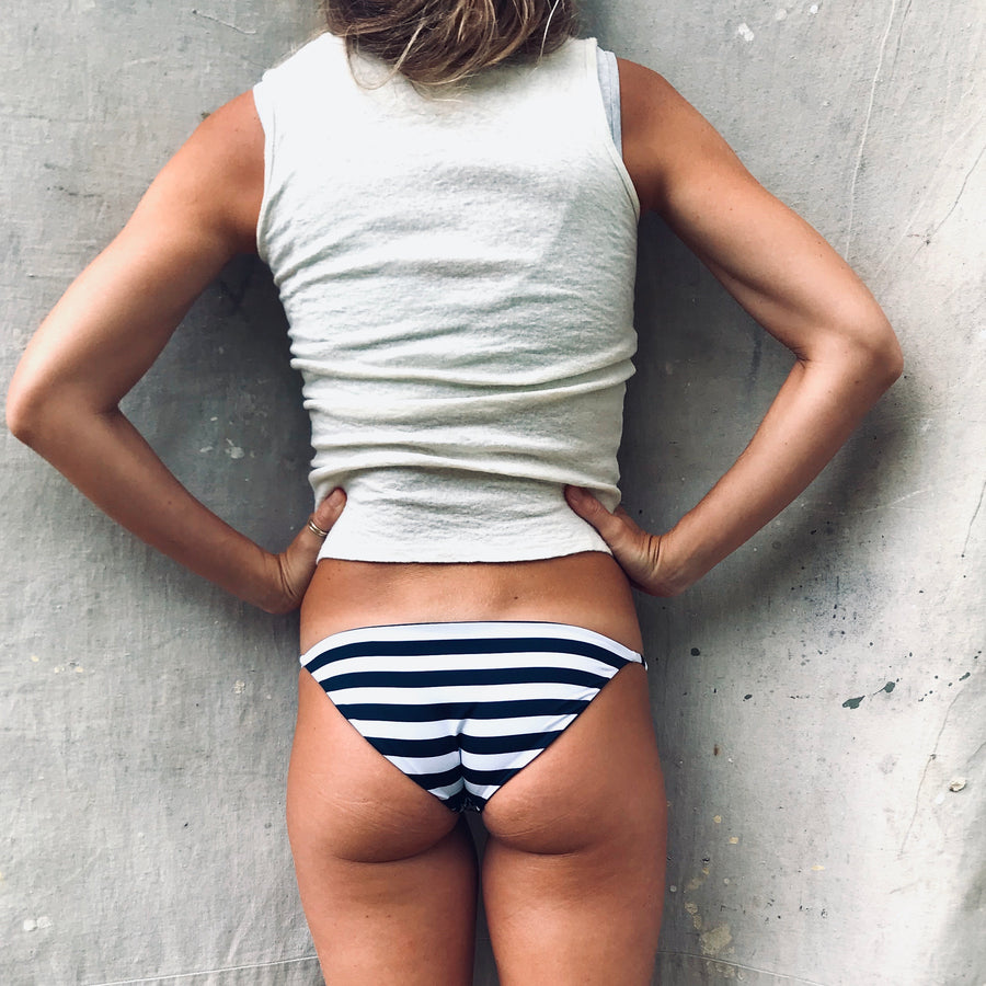 Aegean Full Coverage Bottom - Stripe