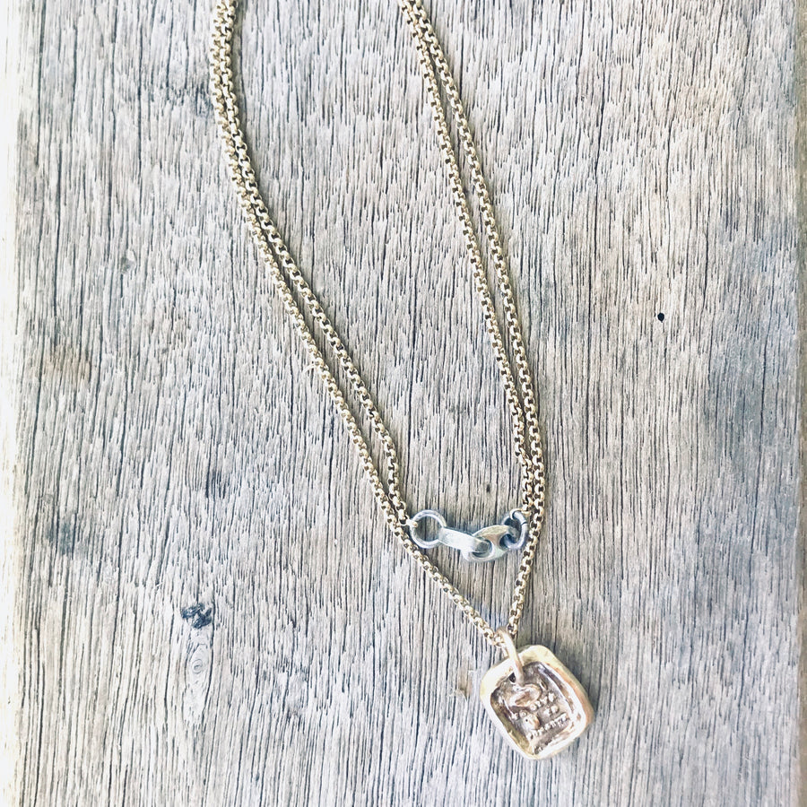 Hand to Give, Heart to Forgive Necklace