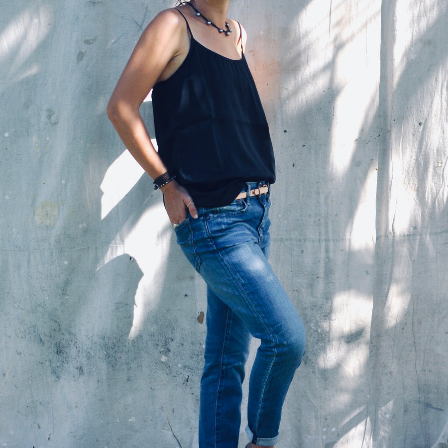 The Vitet Tank - Black