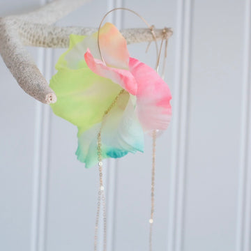 Flower Earrings - Rainbow
