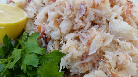500g Fresh Hand Picked White Crab Meat
