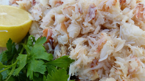 1kg Hand Picked White Crab Meat