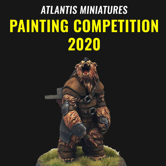 ATLANTIS MINIATURES PAINTING COMPETITION 2020