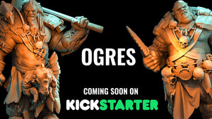 Ogre Kickstarter July 10th 2018!
