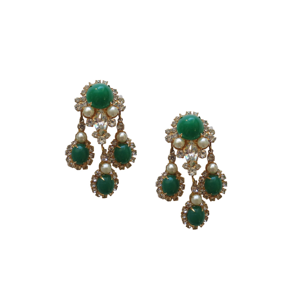 K.J.L. Earrings - Lulu's Vintage