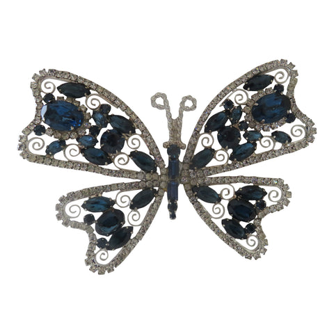 Huge Butterfly brooch