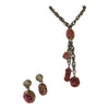 Vintage 1950 Selro charm necklace set