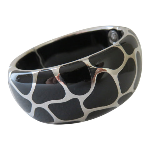 Angelique De Paris Wide Cuff Bracelet