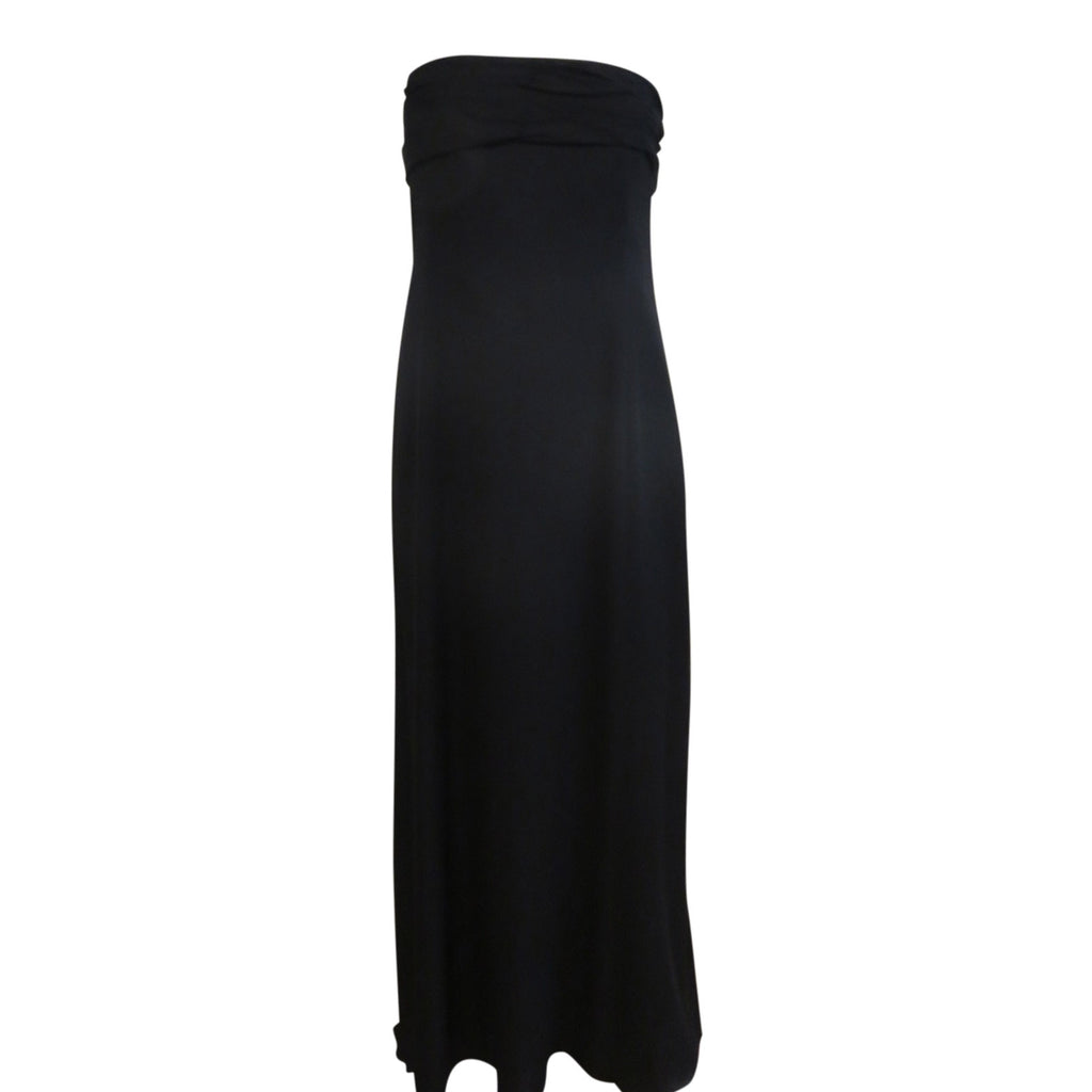 vintage Armani black silk gown