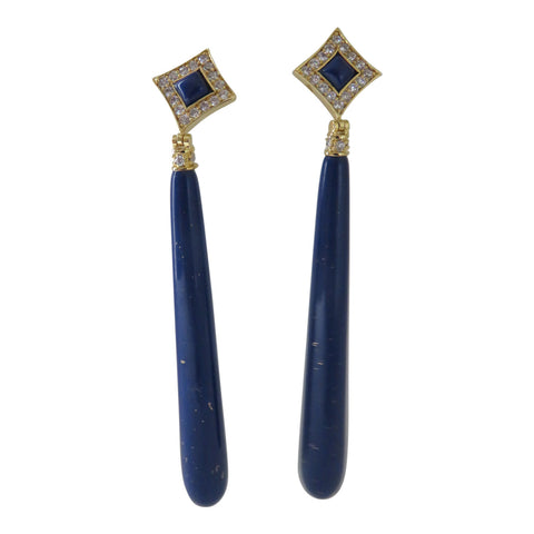 Angelique de Paris Lapis earring