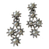 Iradj Moini Pearl Crystal Earrings
