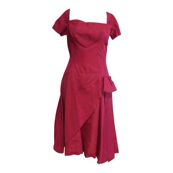 Vintage 1950 pink party dress
