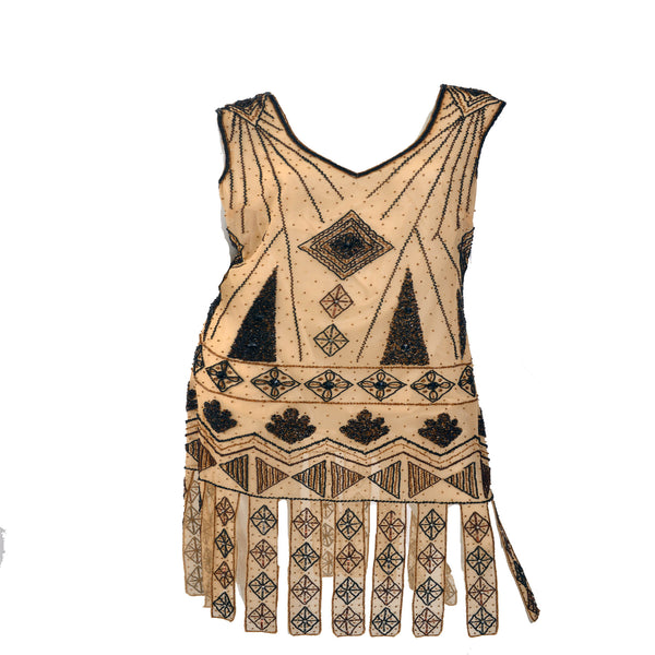 1920 Repro Flapper Dress - Lulu's Vintage