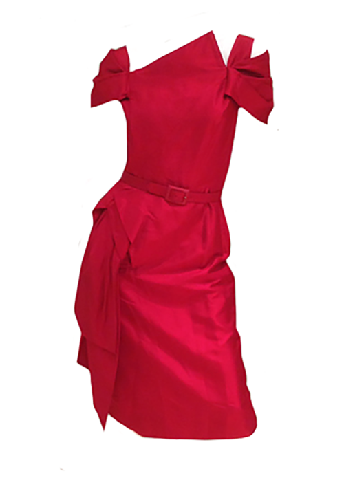 1950s Red Party Dress - Lulu's Vintage