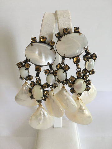 Iradj Moini Shell Earrings