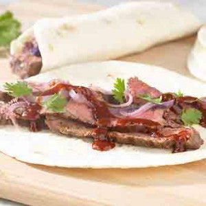 BBQ Steak Wrap-Ups
