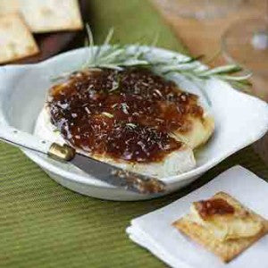 Baked Camembert with Rosemary