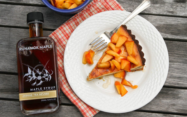 Jasmine Maple Syrup Plum Tart