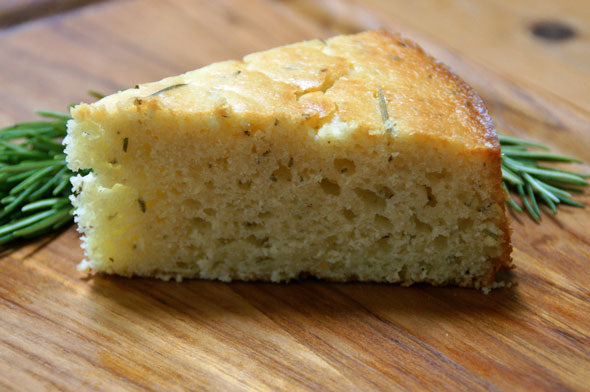 Meyer Lemon Rosemary Olive Oil Cake