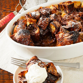 Bittersweet Chocolate Bread Pudding