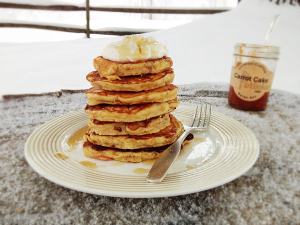 Carrot Cake Jam Griddle Cakes