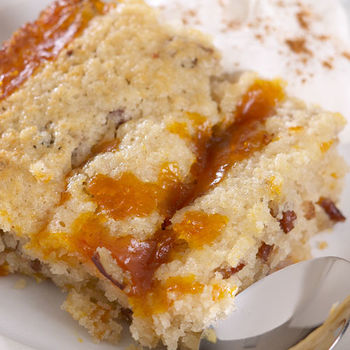 Warm Pumpkin Pudding Cake