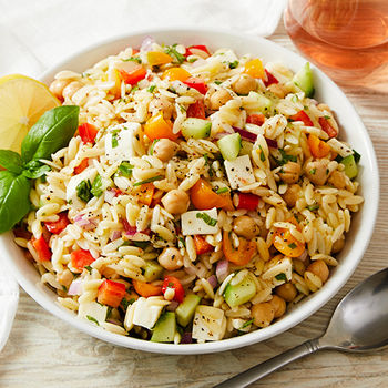 Rose Orzo Salad
