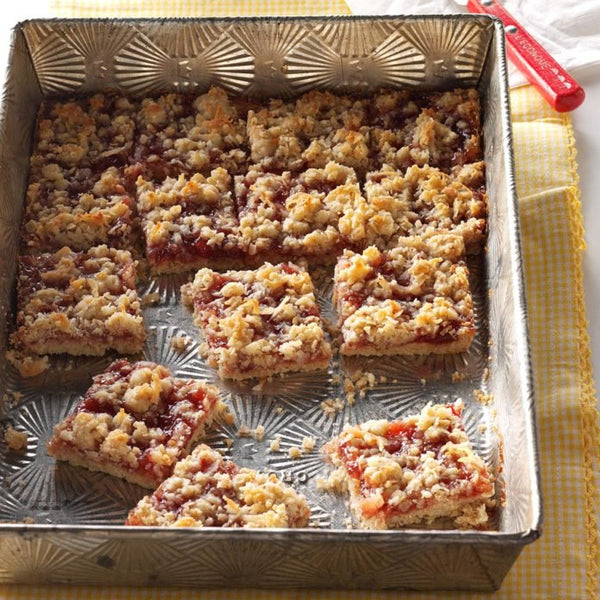 Strawberry Rose Bars