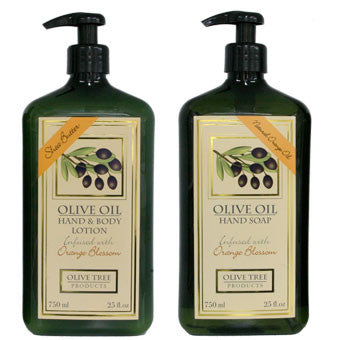 Olive Oil Hand Soap & Lotion Set