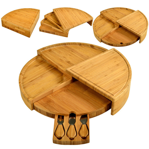 Bamboo Vienna Cheese Board