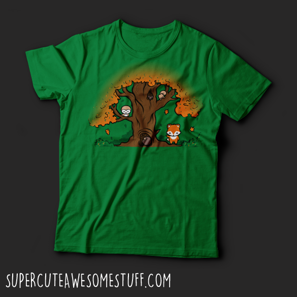 Autumn Friends T-Shirt