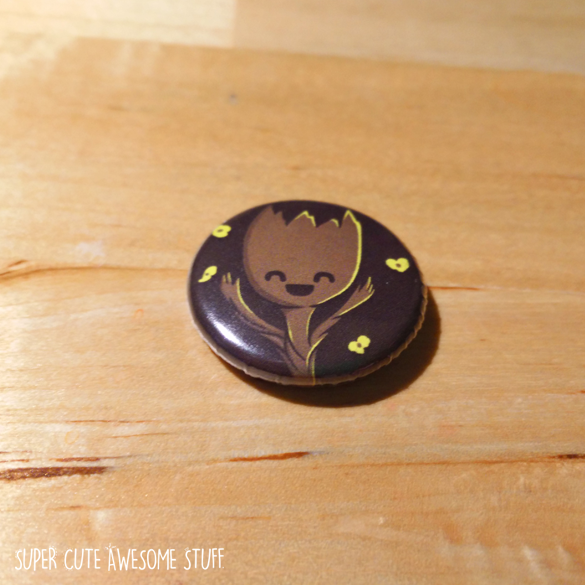 Baby Groot Button
