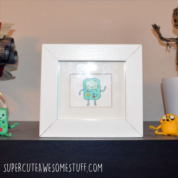 Miniature Watercolour BMO Beemo