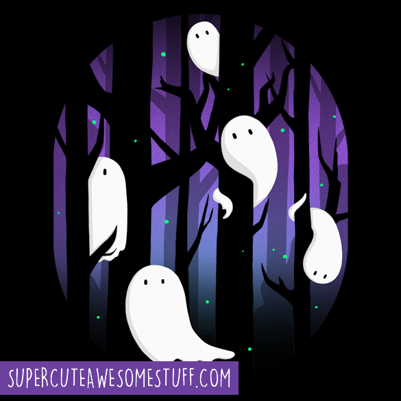 Ghosts in the Forest T-shirt