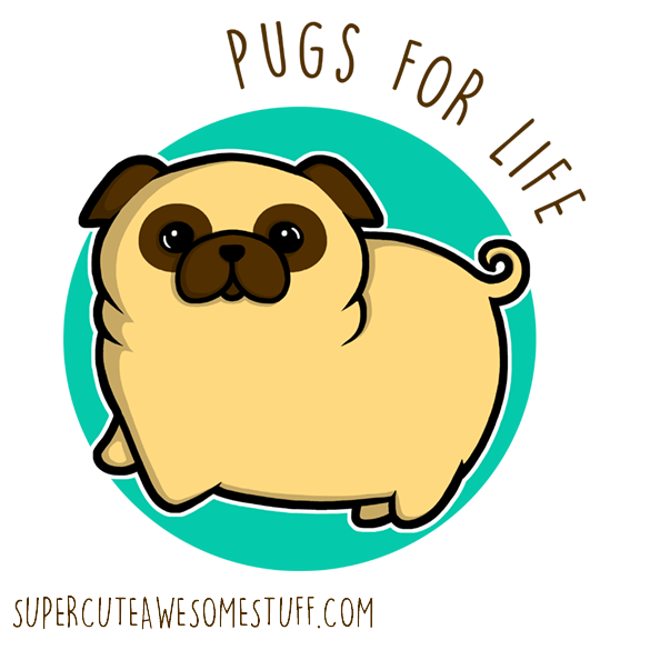 Pugs for life - T-Shirt