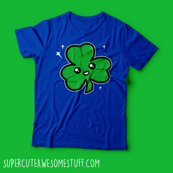 Super Cute Shamrock T-Shirt