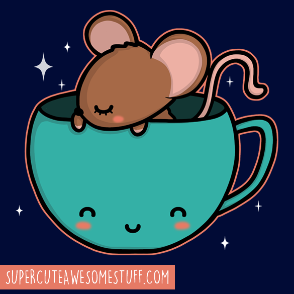 Teacup Mouse T-Shirt