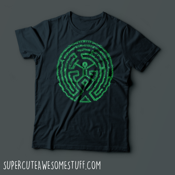 The Maze - Westworld T-Shirt