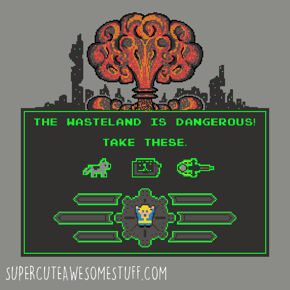 The Wasteland is Dangerous TShirt