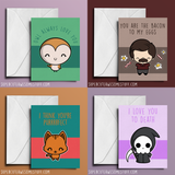 I Think Youre Purrrrfect - Valentine's Card