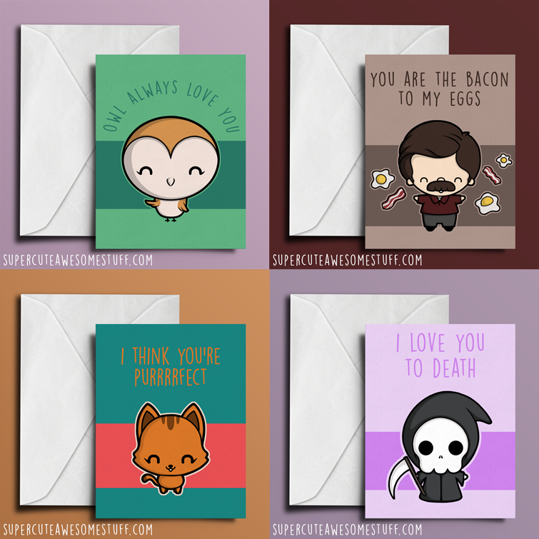 I am NUTS about you - Valentine's Card