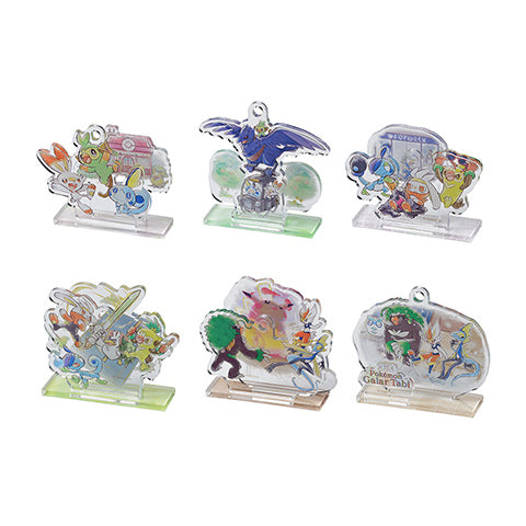 Pokemon Galar Tabi - Acrylic Stand Charm Collection *BLIND PACKED*