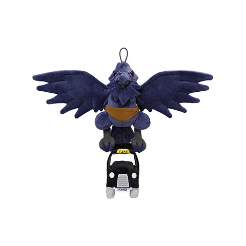 Pokemon Galar Tabi - Flying Taxi Corviknight Plush